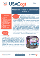 CHRONIQUE SOCIALE DU CONFINEMENT N°6