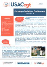 Chronique Sociale du Confinement n°4