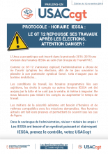 GT Horaire IESSA - Attention Danger !